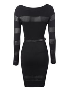 Belted Jumper dress