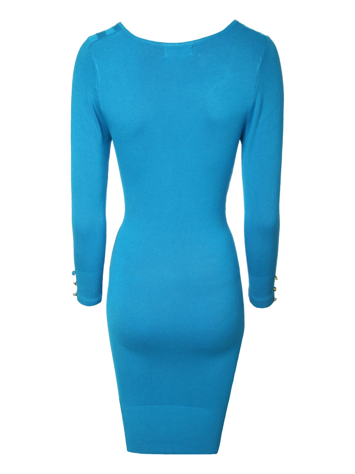 Twist Detail Jumper Dress