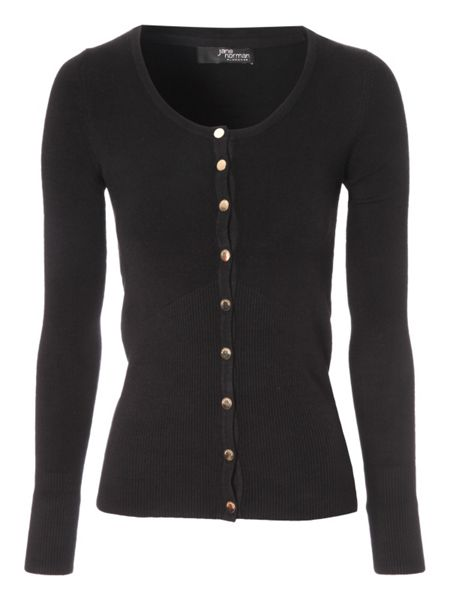 Jane Norman Scoop neck cardigan