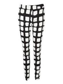 Printed check Trousers