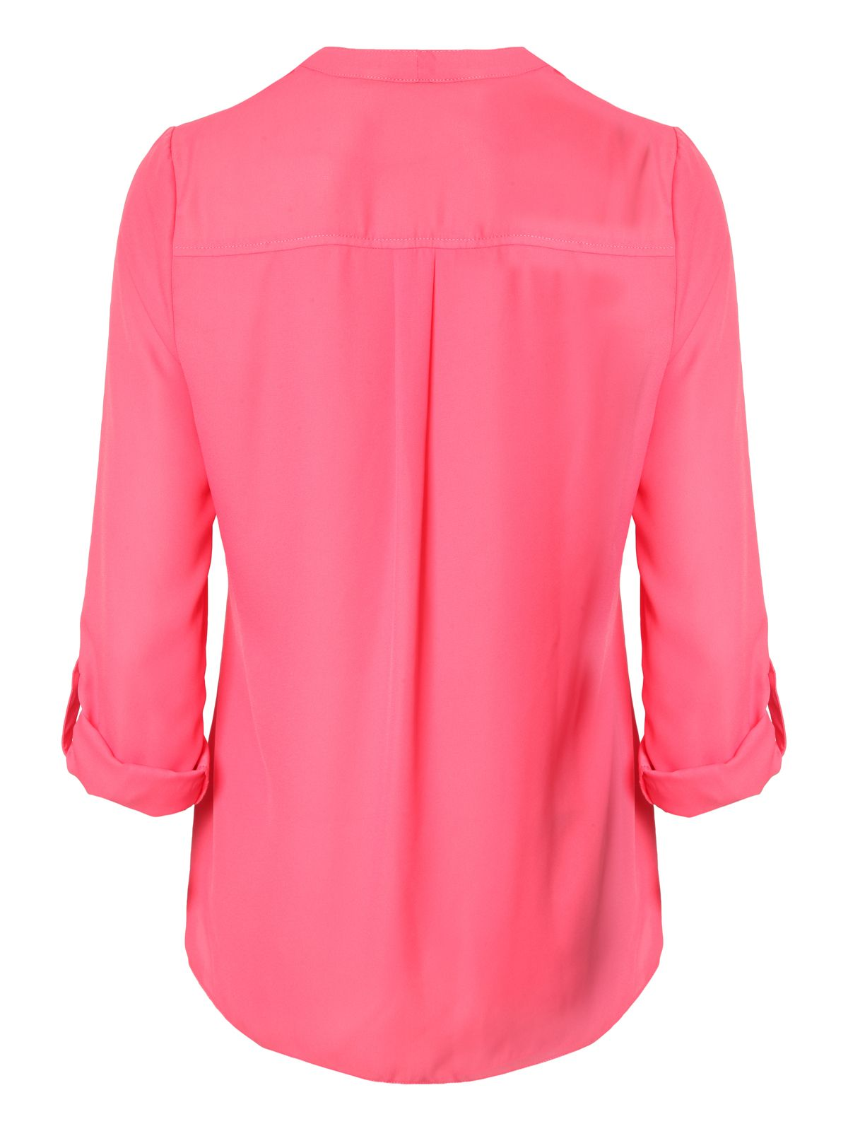 Zip Pocket Blouse