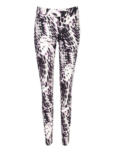 Jane Norman Animal Print Tailored Trousers