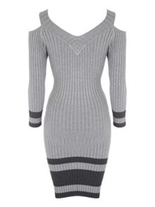 Jane Norman Cold Shoulder Jumper Dress