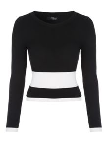 Jane Norman Monochrome Contrast Co-ord Jumper