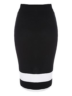 Monochrome Contrast Co-ord Skirt
