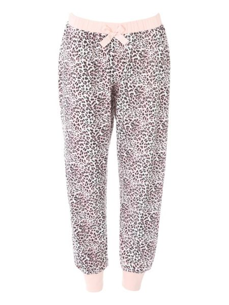 Jane Norman Animal Print Trouser Nightwear PJ Set