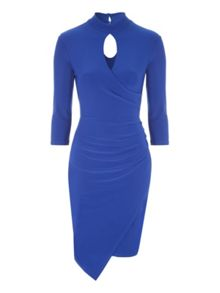 Jane Norman Choker Wrap Dress