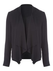 Jane Norman Chiffon Waterfall Jacket
