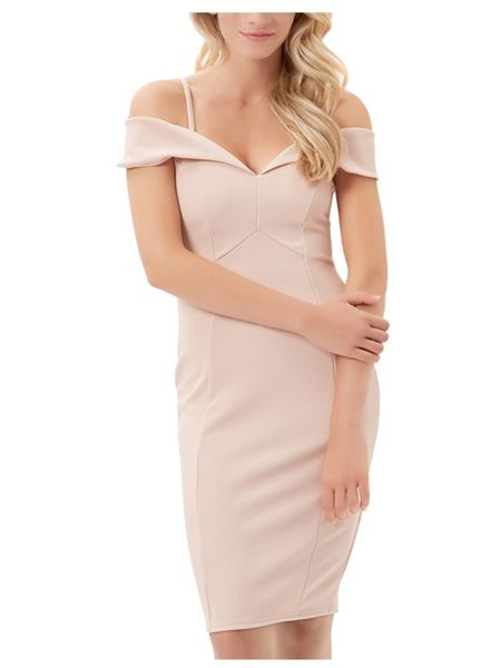Jane Norman Bardot Midi Dress