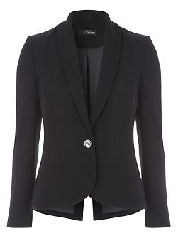 Black Long Sleeve Blazer Jacket