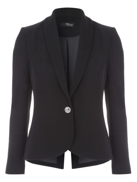 Jane Norman Black Long Sleeve Blazer Jacket