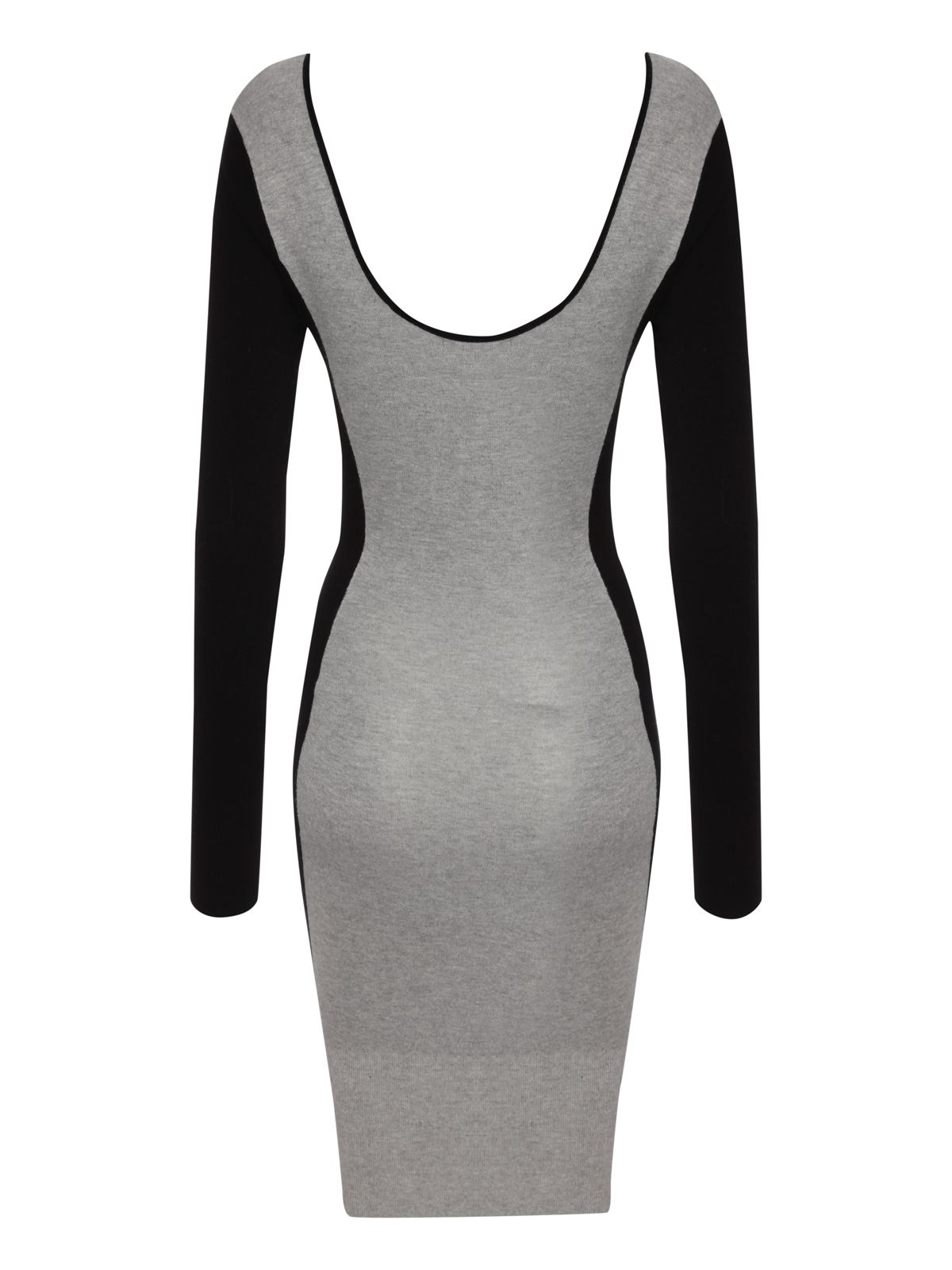 Bodycon panel jumper dress