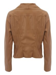 Jane Norman PU Waterfall Jacket