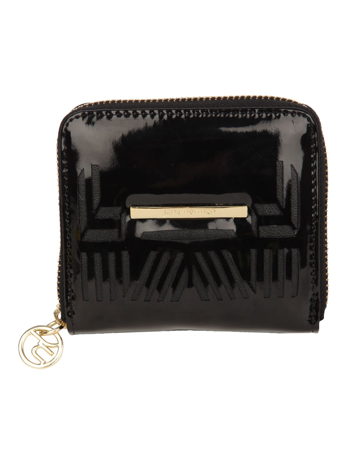 Small Black Cutout Purse