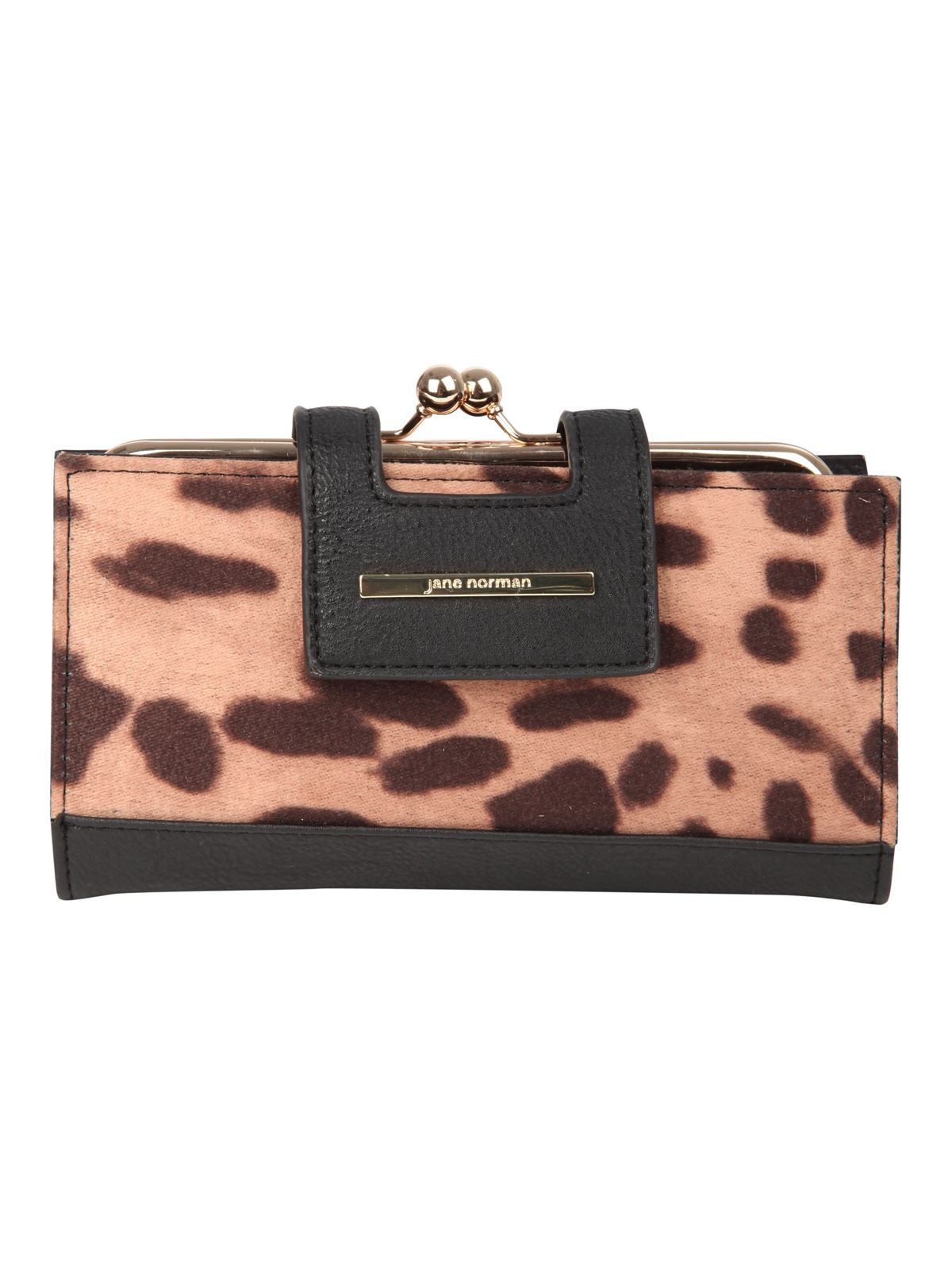 Large animal print purse