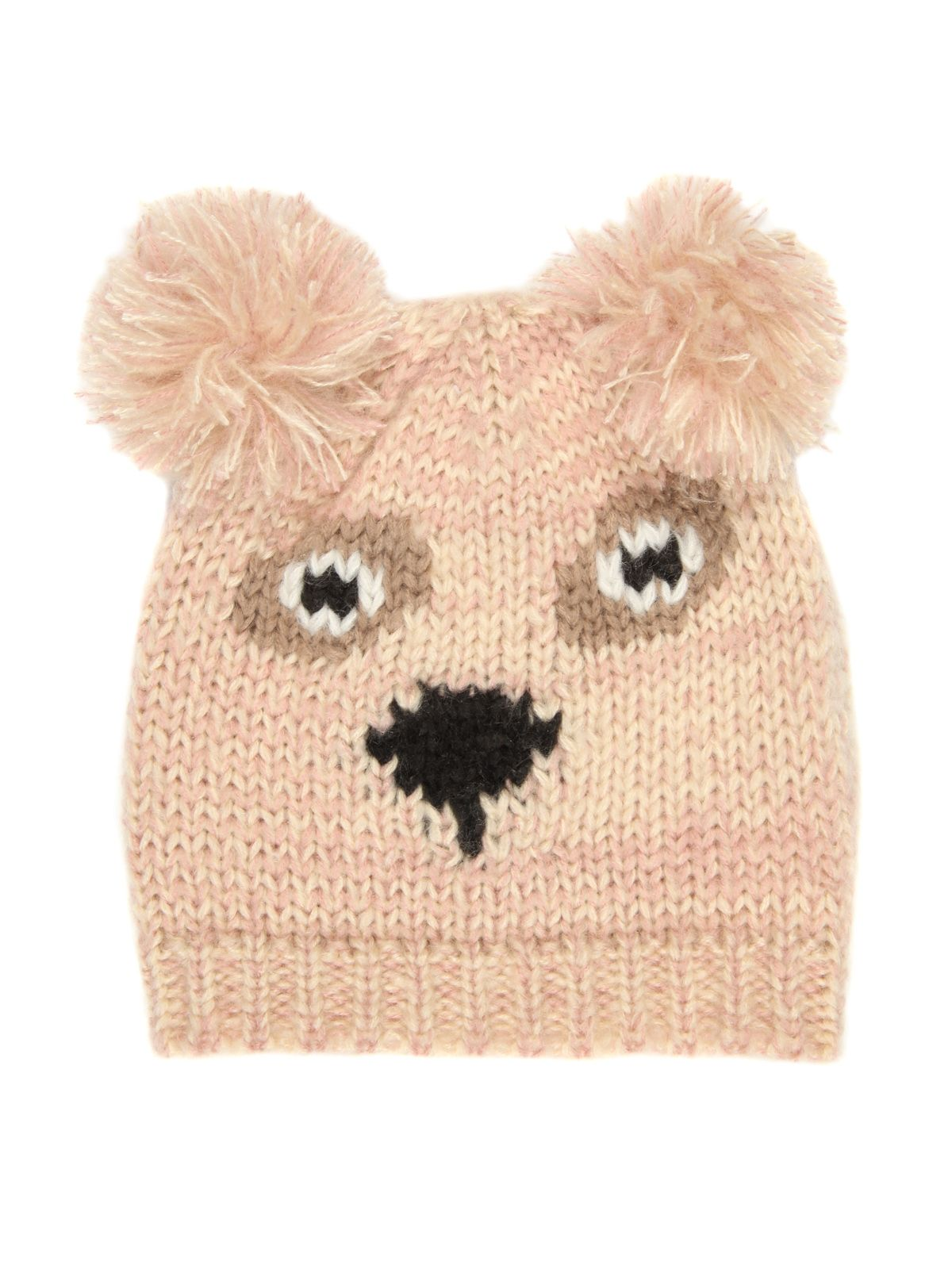 Knitted animal hat