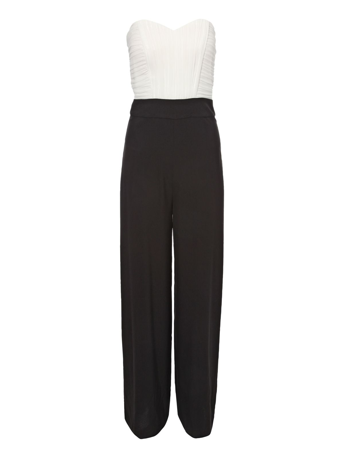 Pleated Bust Jumpsuit