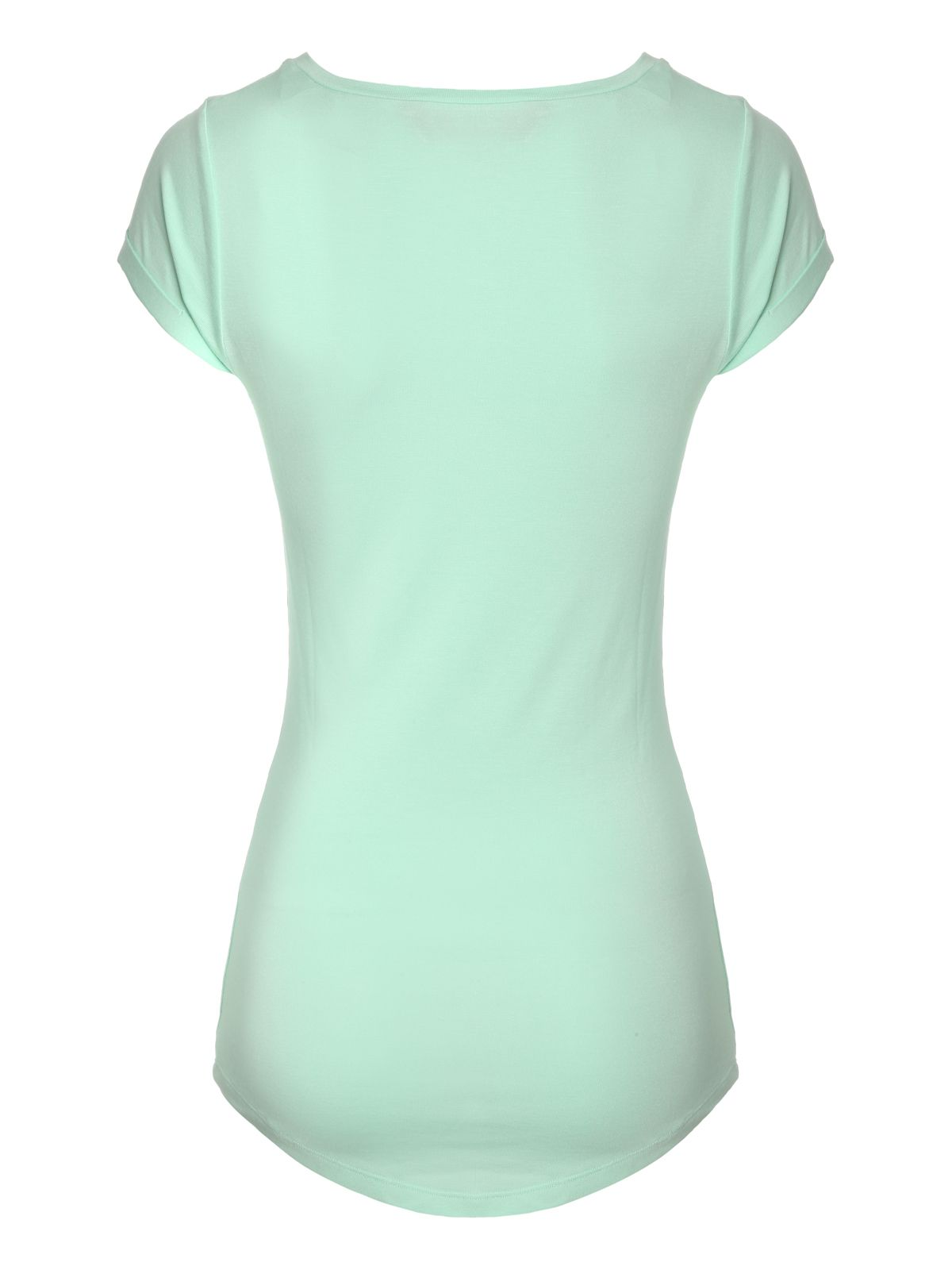 Scoop neck short sleeve t-shirt