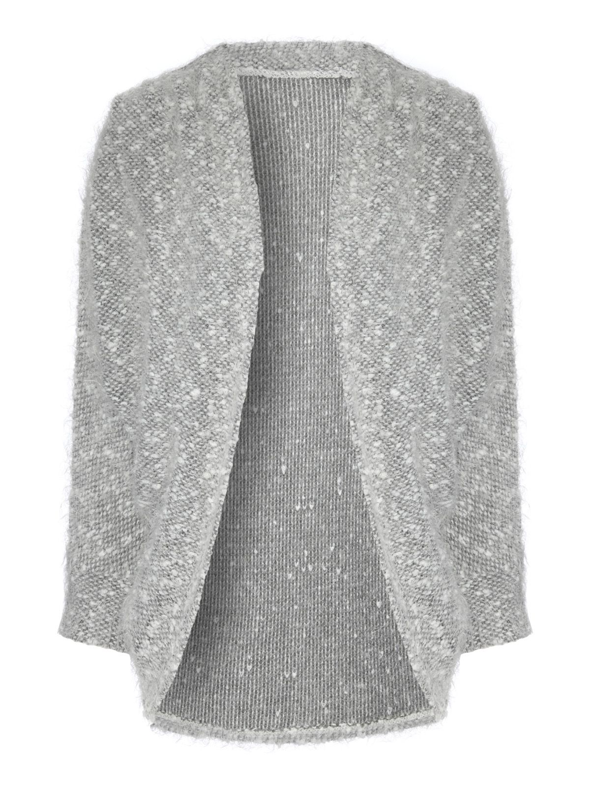 Fluffy Knit Cocoon Cardigan