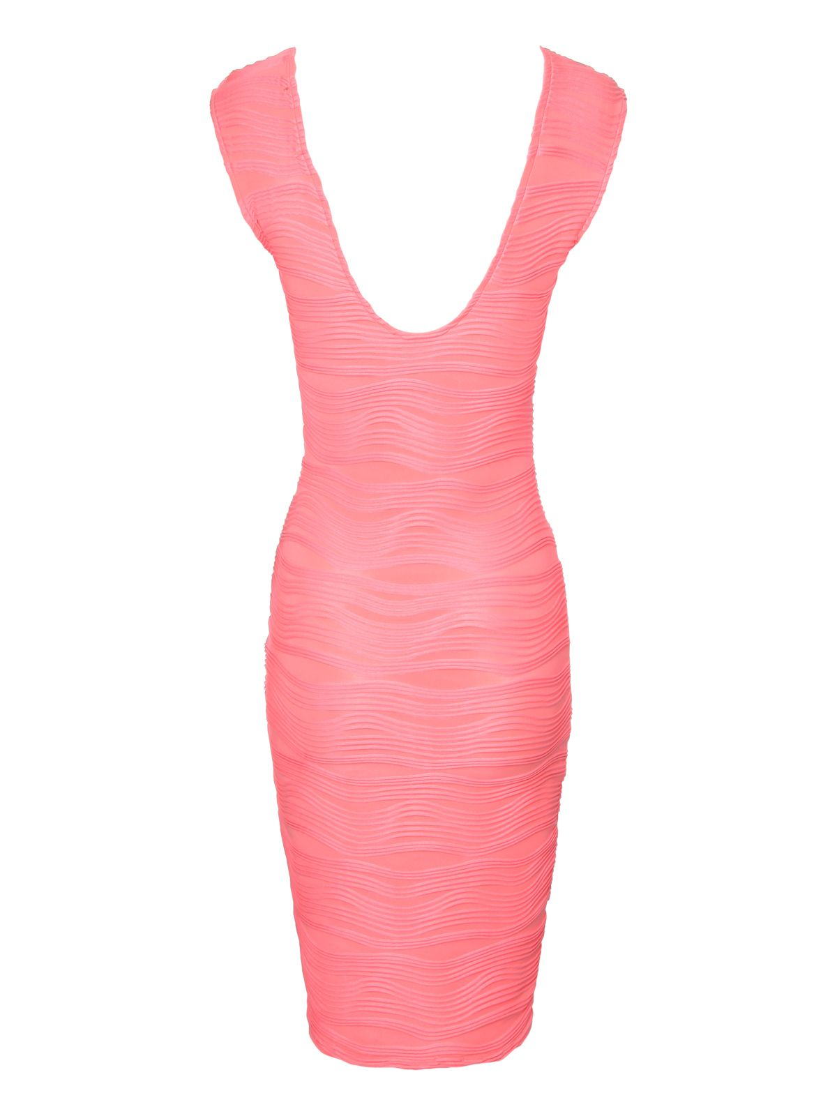 Ripple bodycon dress
