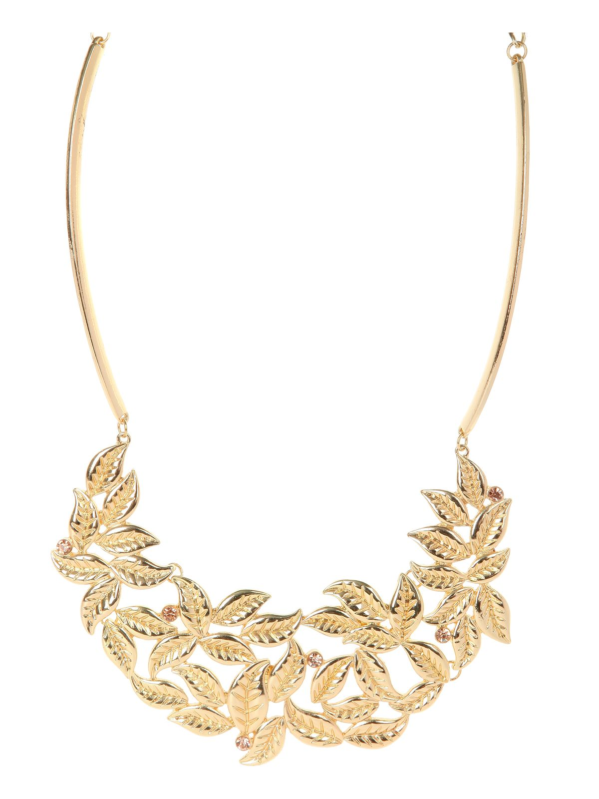Statement Leaf Necklace