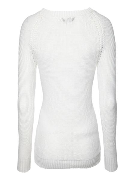 Jane Norman Long sleeve cable tape jumper