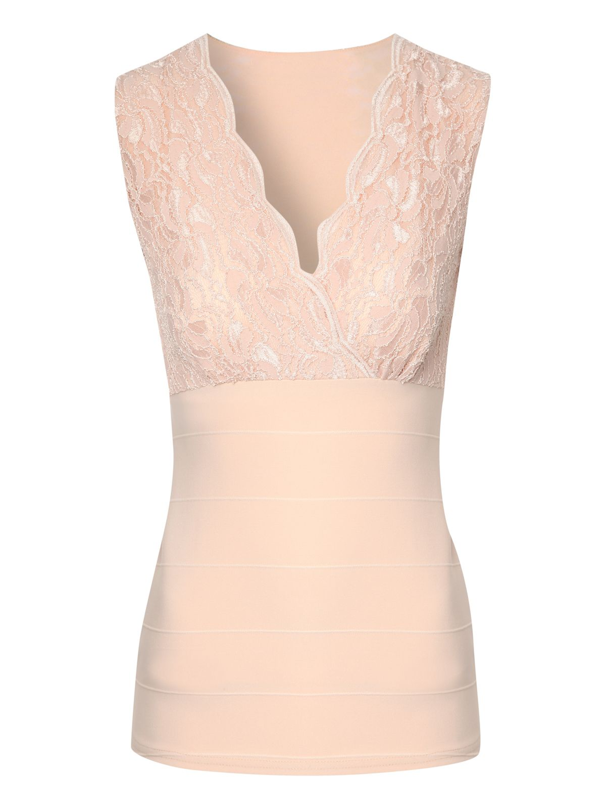 Lace bandage top