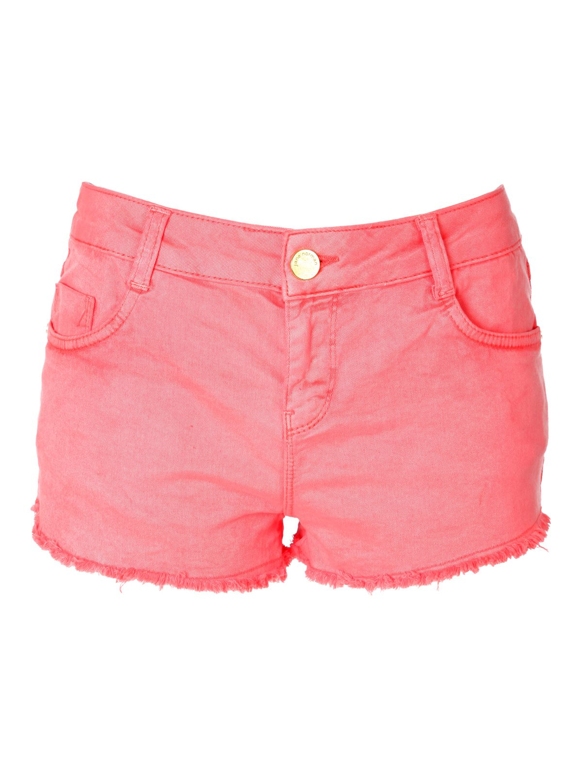 Coloured Denim Shorts