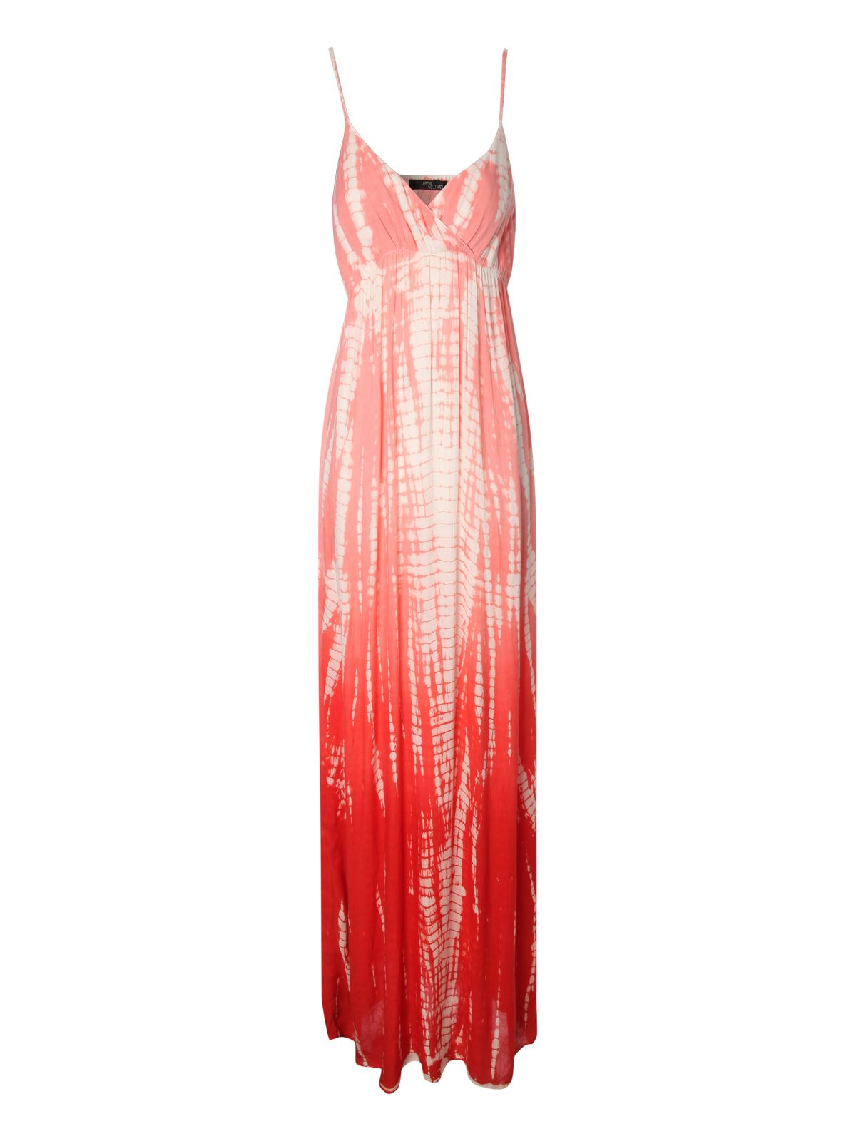 Tie dye plait maxi dress