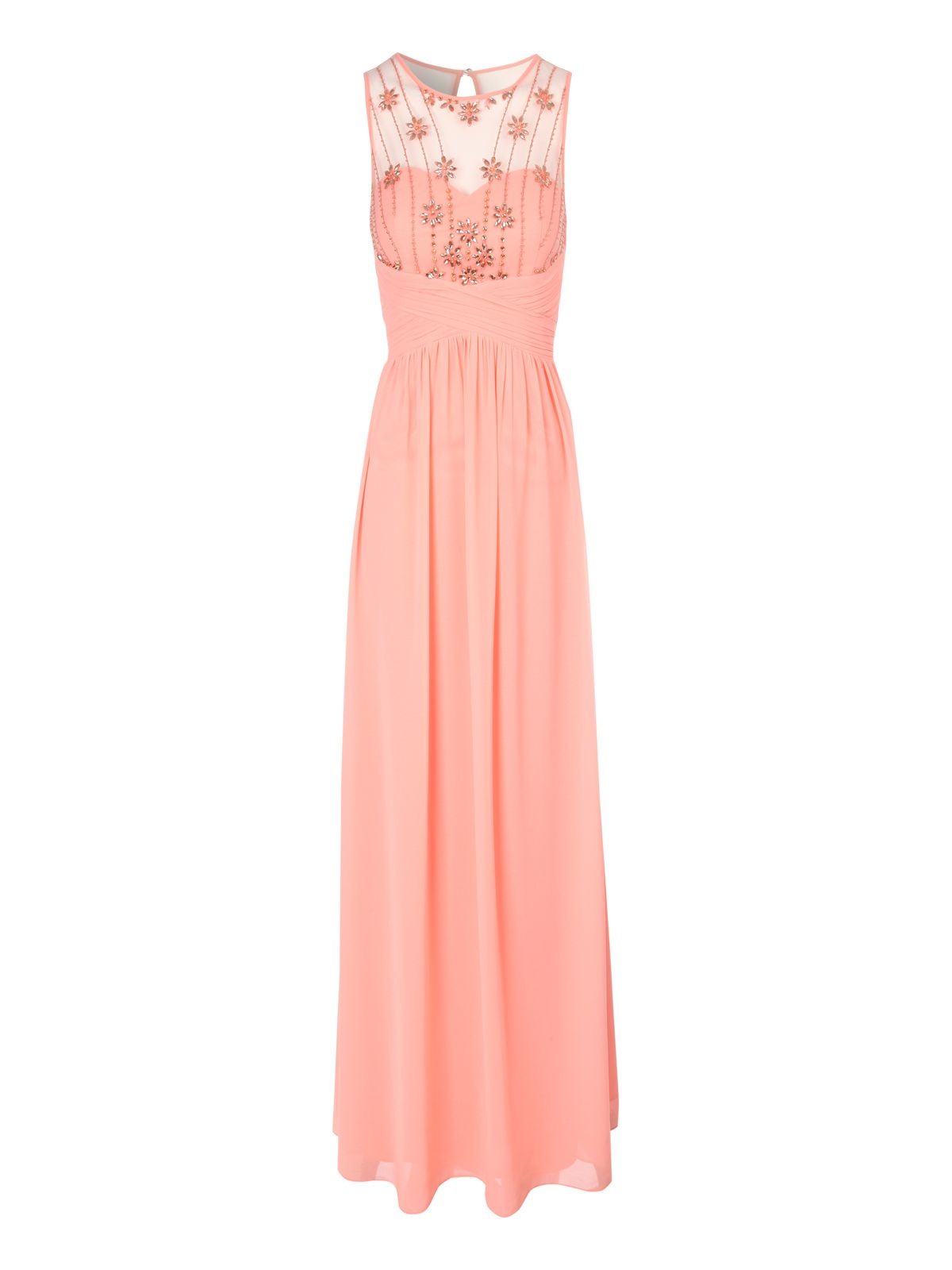 Daisy embellished maxi dress