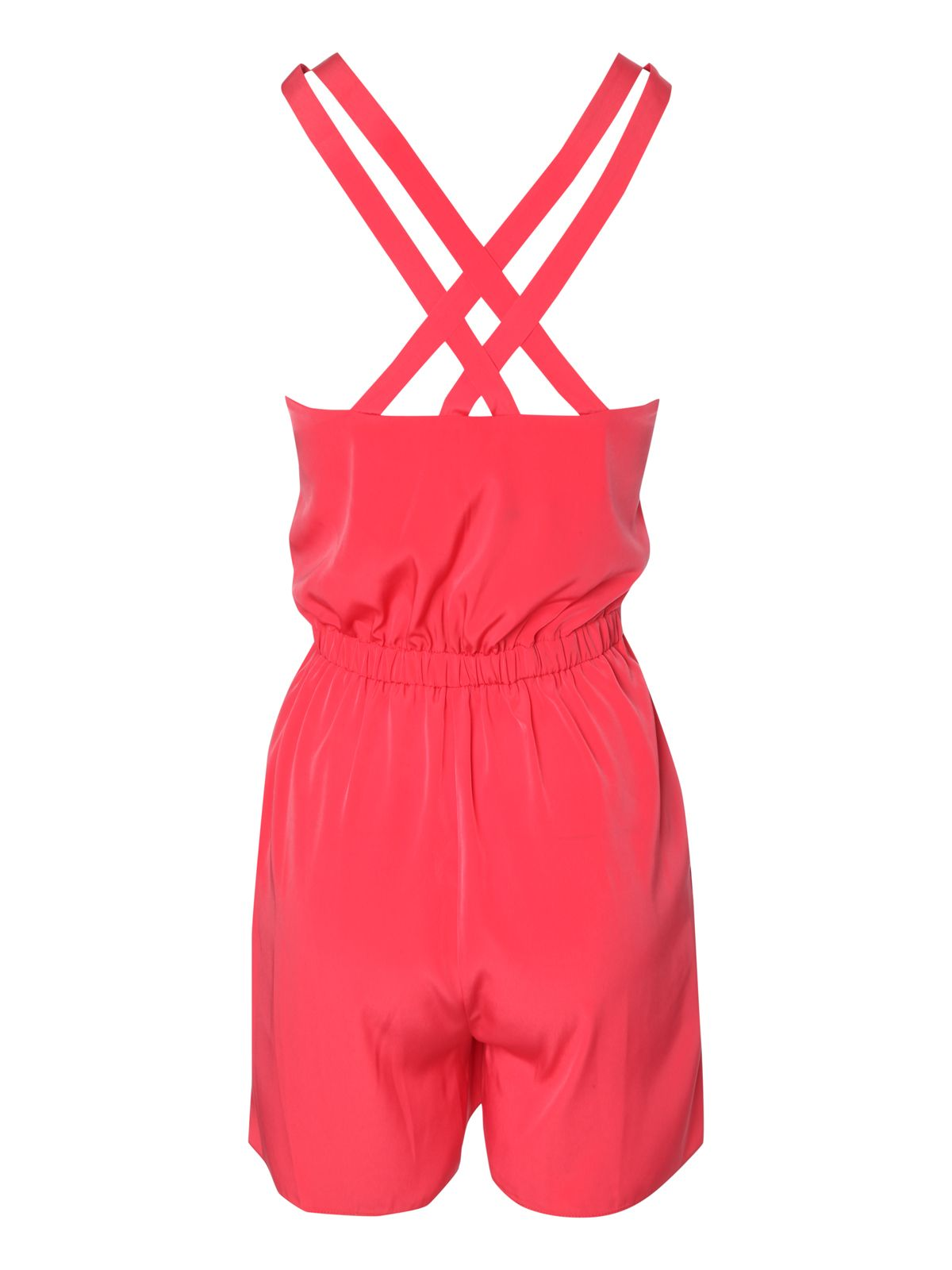 Cross back playsuit