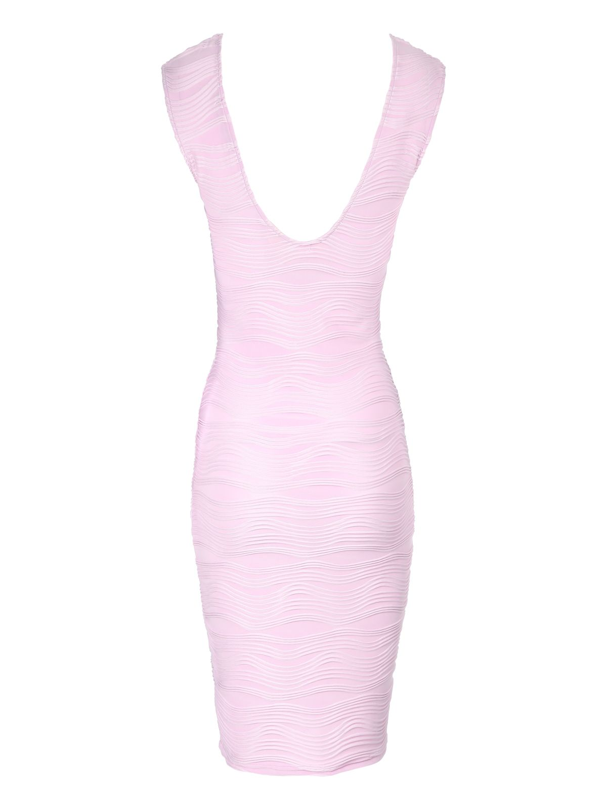 Ripple Textured Bodycon Dress