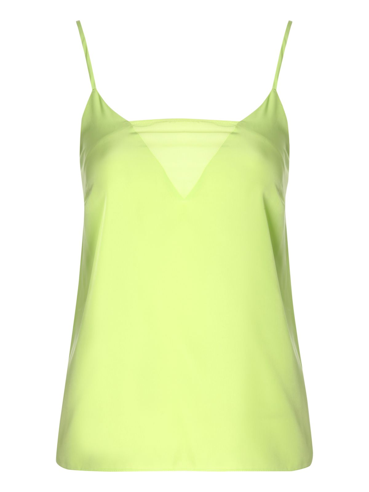 Sheer cami vest top