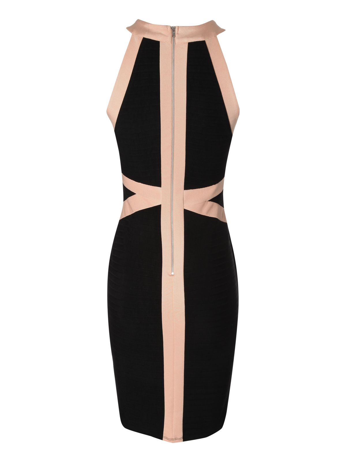 Halter neck bandage dress