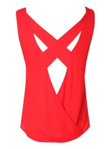 Cross Back Detail Top