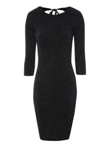 Lurex Bodycon Dress
