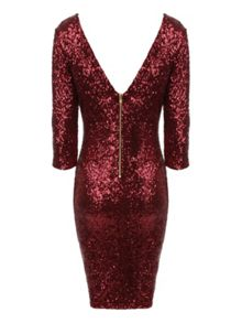 All over sequin Dress