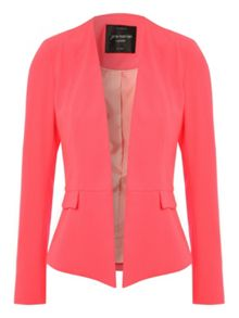 Neon fitted blazer