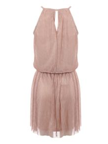 Jane Norman Pleated Mini Dress
