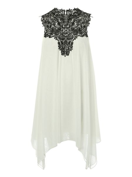 Jane Norman Lace yolk dress