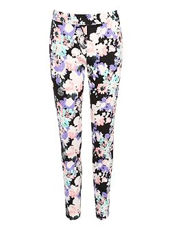 Jane Norman Floral Print Trousers