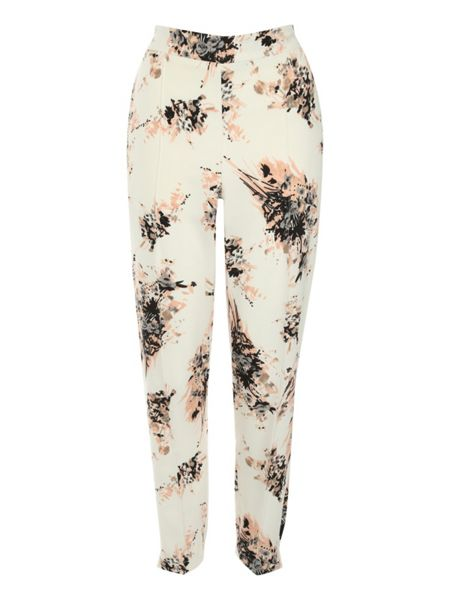 Jane Norman Printed pj style trousers
