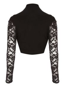 Lace sleeve Shrug