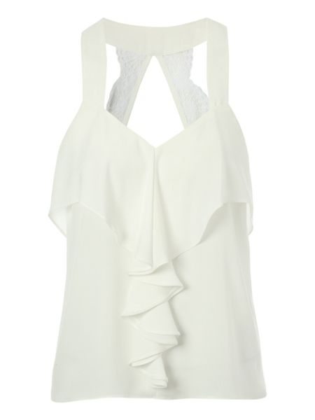 Jane Norman Frill Detail Top