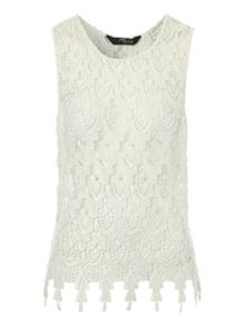 Jane Norman Teardrop Crochet Vest