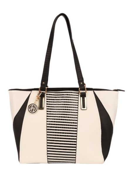 Jane Norman Striped Tote Bag