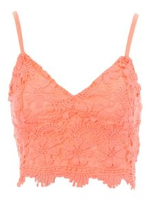 Jane Norman Crochet Bralet