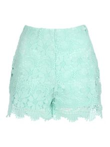 Jane Norman Crochet Shorts