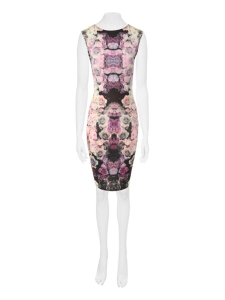 Jane Norman Rose Bodycon Dress