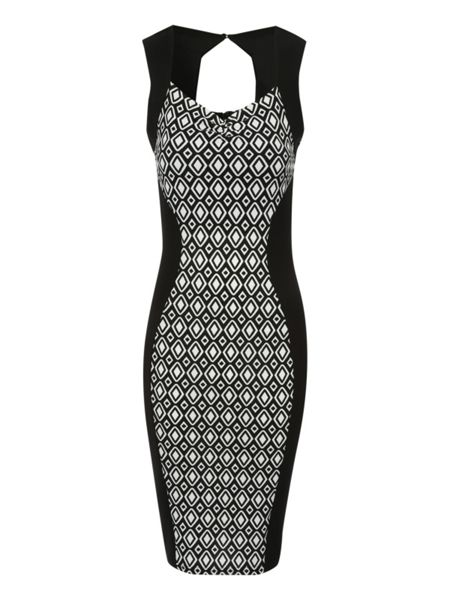 Jane Norman Illusion Geo dress